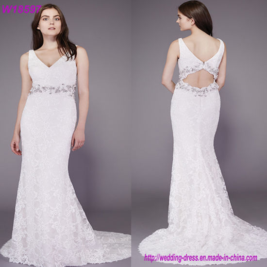 China Clothing Manufacturer Hot Plus Size Fat Women Wedding Dresses ...
