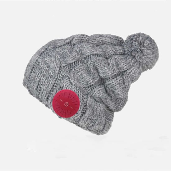 Winter Warm Muisc Knitting Women Smart Cap Wireless Bluetooth Headphone Speaker Mic Bluetooth Hat Four Color Optional pictures & photos