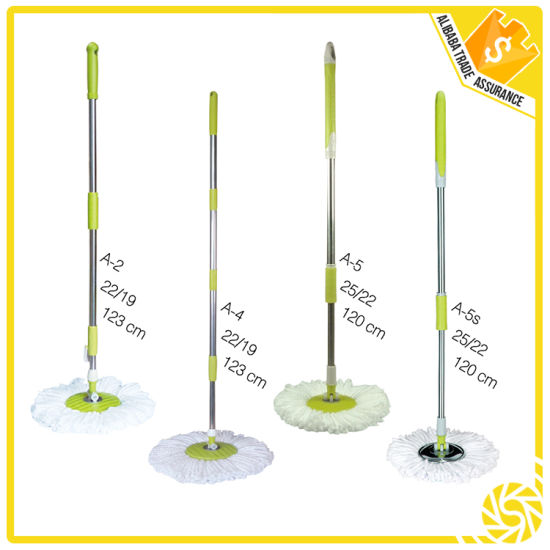 Household Cleaning Hand Press Spin Mop Parts pictures & photos