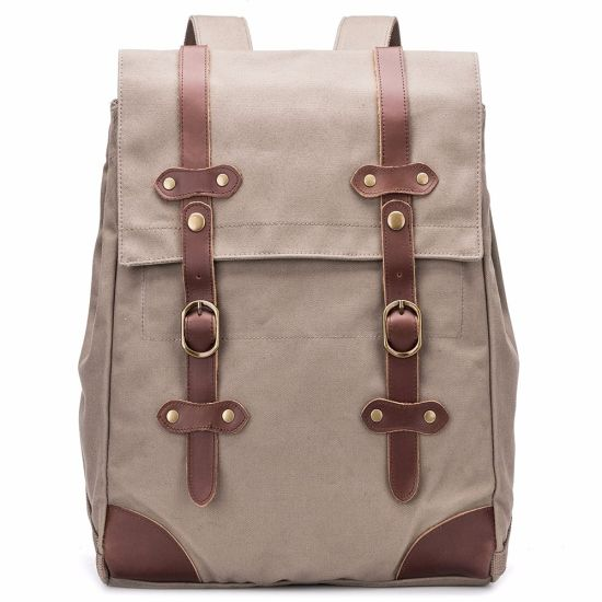 29b5b8262a0 China Herschel Cotton Canvas Backpack Bags - China Bag
