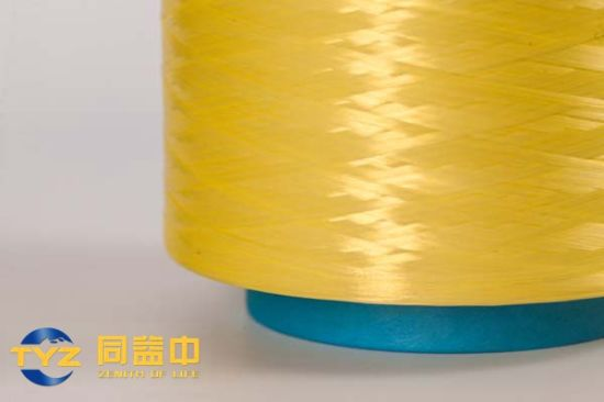 Hmpe Dtex 880 Lemon Colored Yarn for Bulletproof Ud /Fabric /Cordage /Ropes Tyz-PE-C73 pictures & photos