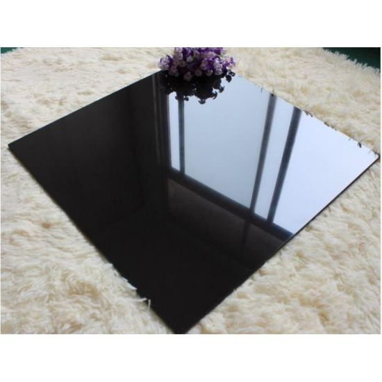 Polished Super Black Porcelain Floor Tile pictures & photos