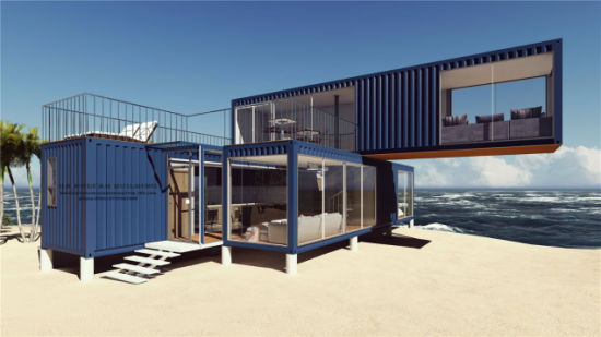 China 3 bedrooms modular prefab prefabricated portable - Shipping container home design kit download ...