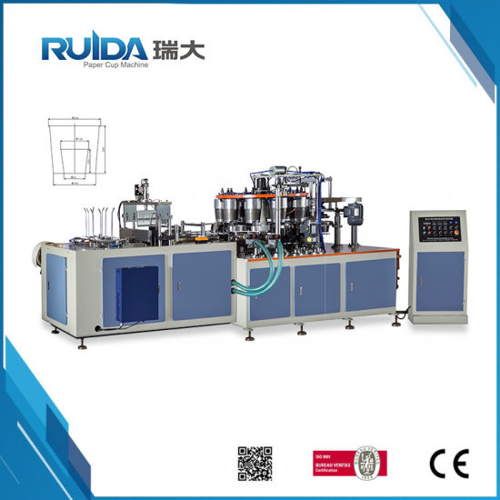 CE Automatic High Speed Popcorn Cup Forming Machine (RD-ZT-200)