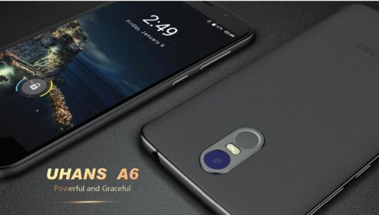 Original Uhans A6 Cellphone 4150mAh Fingerprint 5.5 Inch Smart Phone pictures & photos