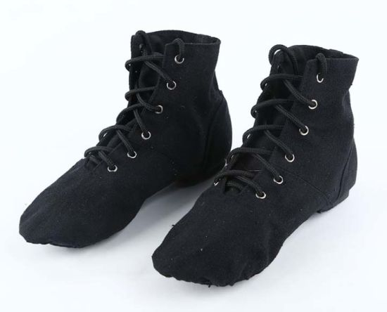 High Boot Canvas  Soft Ballet Shoes Jazz Shoes
