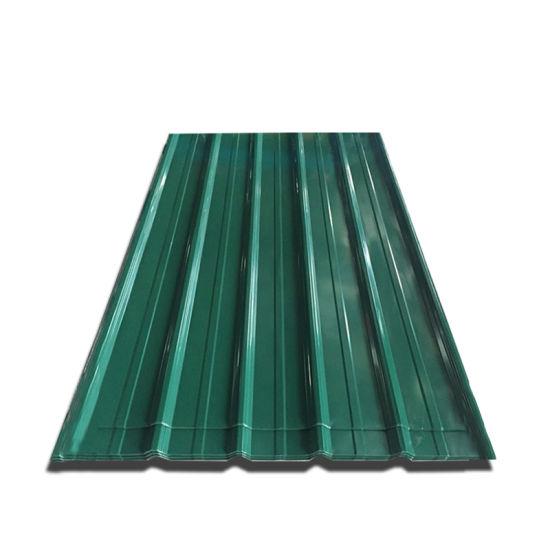 SGCC CGCC Dx51d Long Span Color Coated Steel Corrugated Roofing Sheet
