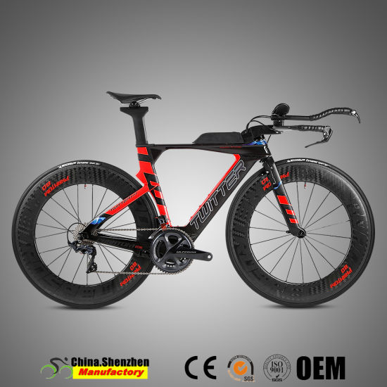High-Modulus Carbon 22speed Road Racing Bike with Aluminum Alloy Wheel