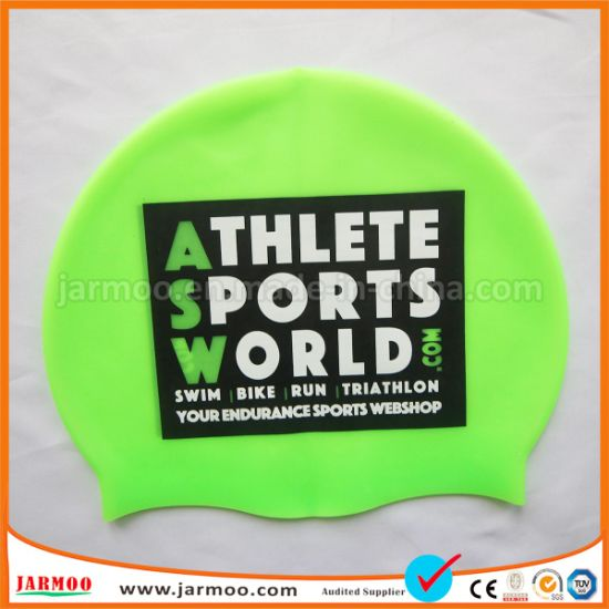 5fb6421b7 China Durable Full Color Christmas Swim Caps - China Swimming Caps ...