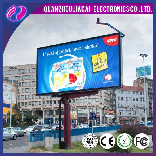 China 4 81mm Video Screen Outdoor Advertising LED Display