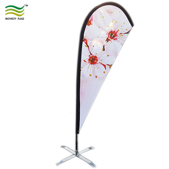 120GSM Knitted Polyester Custom Logo Teardrop Banner (J-NF04F06001) pictures & photos