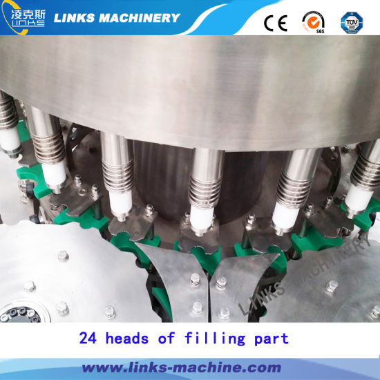 Complete Automatic Drinking Alkaline Distilled Water Filling Bottling Packaging Machine pictures & photos