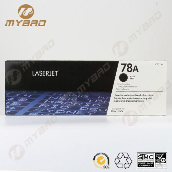 Hot Sale Toner Cartridge Ce278A 78A Toner Cartridge for HP