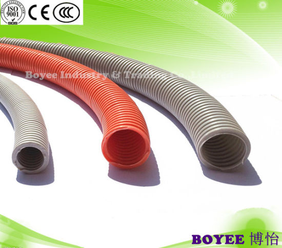 china pvc electrical cable protection flex pipe china corrugated rh boyeeco en made in china com