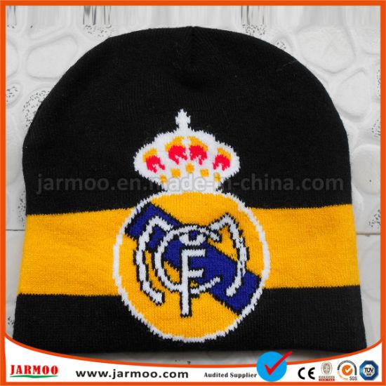 China Football High Quality Cheap Knit Winter Hats - China Beanie ... c4f2346f287