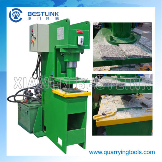 Bestlink Popular Hydraulic Stone Stamper Machinery for Making Papvers pictures & photos