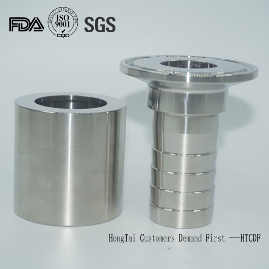 Stainless Steel Sanitary Hose Adapter for Beverage & Food Industry