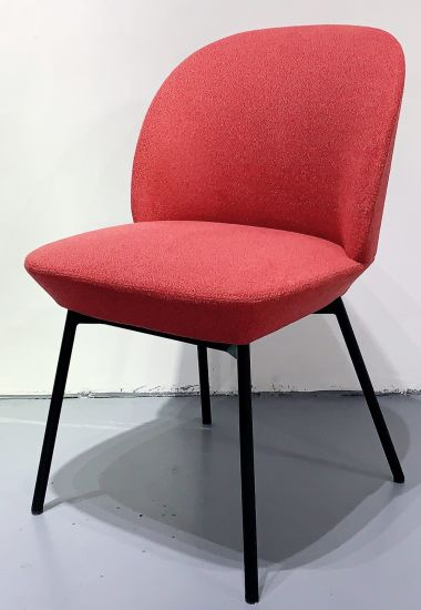 New Design Moulded Foam Fabric Leather Dining Chair