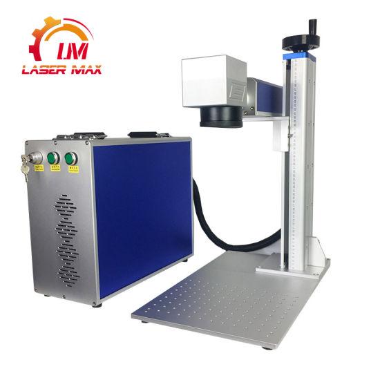 Fiber Laser Marking Machine Gold Metal Laser Engraving Machine Raycus 20W