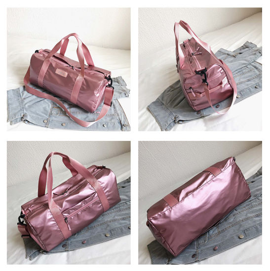 New Large Capacity Outdoor Travel Bag Nylon Waterproof Dry Wet Separation Swimming Fitness Bag Yoga Bag Custom