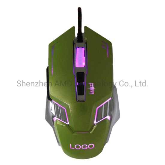 China New Fashion Optical Wired Gaming Mouse From Direct Factory China Usb Computer Mouse And Gaming Mouse Price