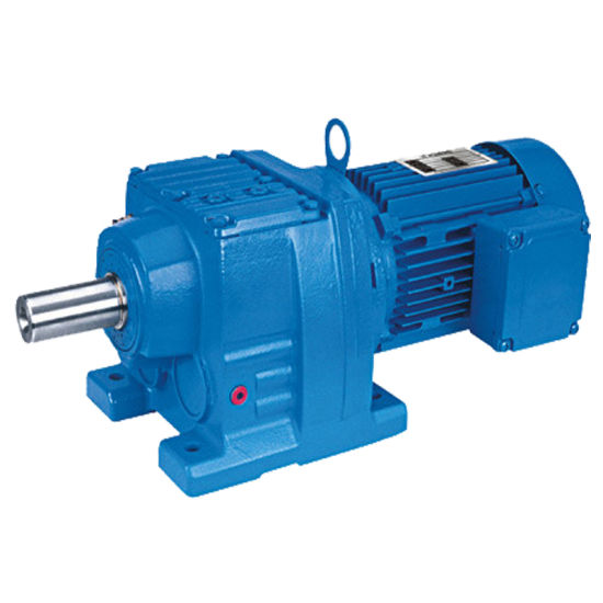 High Quality R Series Light Weight Helical Two Stage Drill Reducer