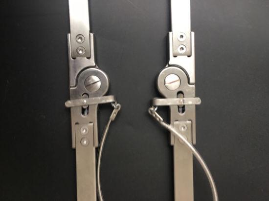Prosthetics Orthopedic Leg Braces Adults Spring Lock with Lock