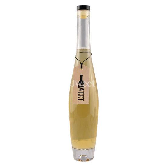 375 Ml Small Tequila Gin Glass Bottle Custom