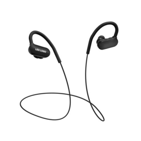 China High End Led Light Neckband Sporty Headset Wireless Earphones Bluetooth Headphones China Bluetooth Eerphone And Sport Eerphones Price