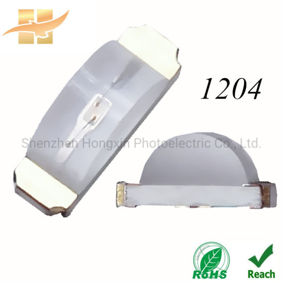 1204 Red Green Free Samples Side View LED RoHS SMD