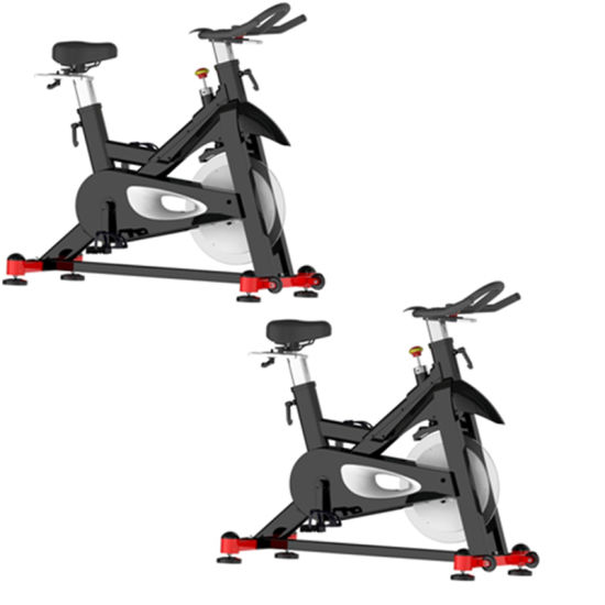 High Weight Capacity Spin Bike Commercial Outdoor Commercial Spinning Bike