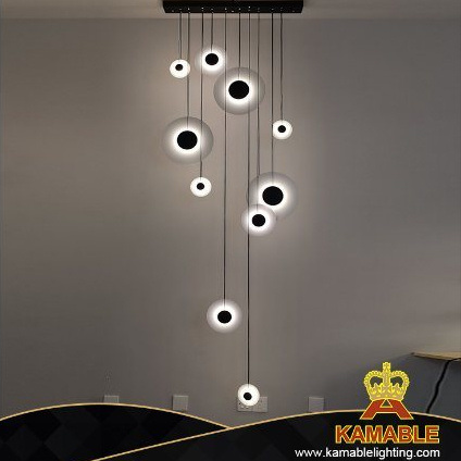 New Design Modern Interior Decoration LED Chandelier Pendant Lamp (KPH811-10)