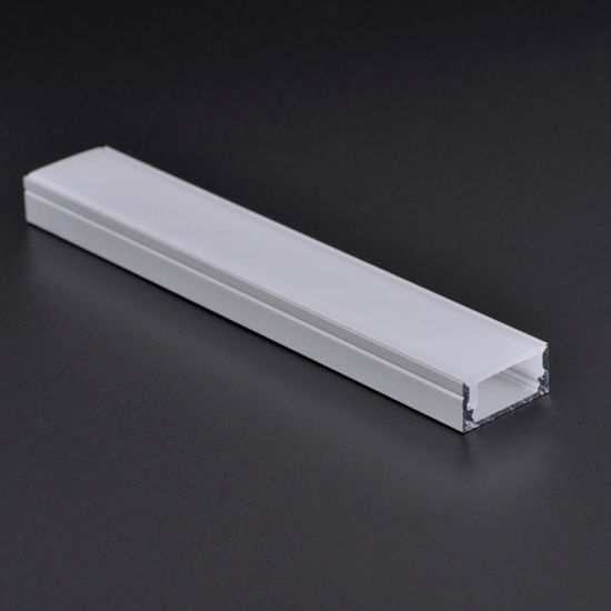 LED Extrusion Aluminum profile with PC Milky cover