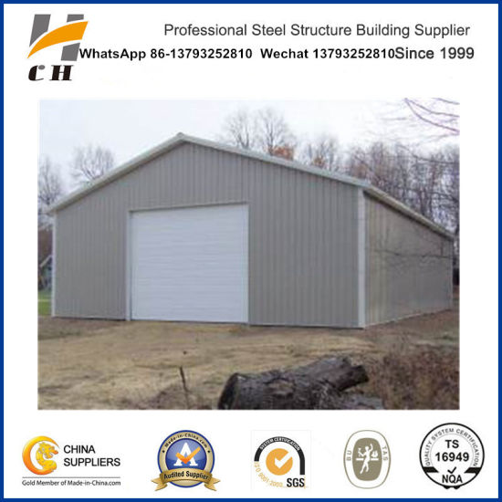 Construction Prefabricated Metail Car Garage Steel Structure Frame for Car Parking