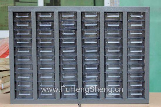 China 60 Drawers Transpa Electronic, Electronic Component Storage Cabinet