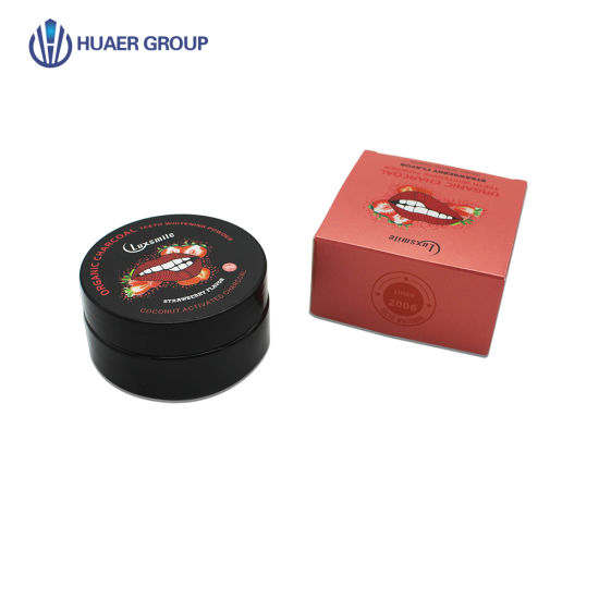 Wholesale Hot Oral Care Product 30g Original Flavor Activated Coconut Shell Charcoal Dental Teeth Whitening Powder