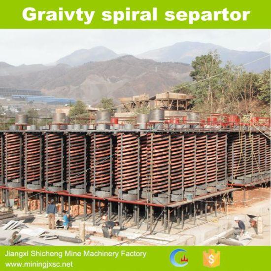 Spiral Chute Mining Equipment for Ilmenite Processing