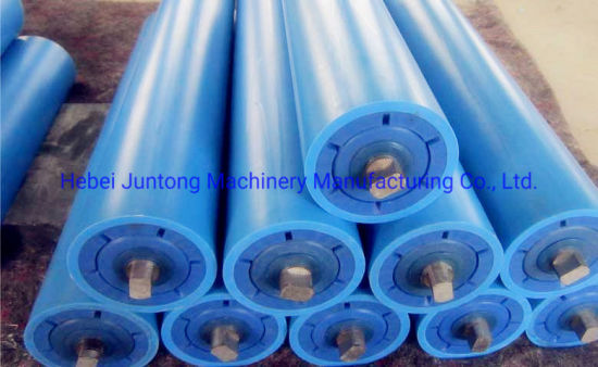 Machining POM Derlin Idler Plastic Covered Paraller Carrier Roller Lx pictures & photos