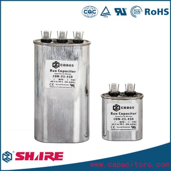 Best Quality AC Dual Mpp 450VAC Cbb65 Capacitor AC Motor Run Capacitor