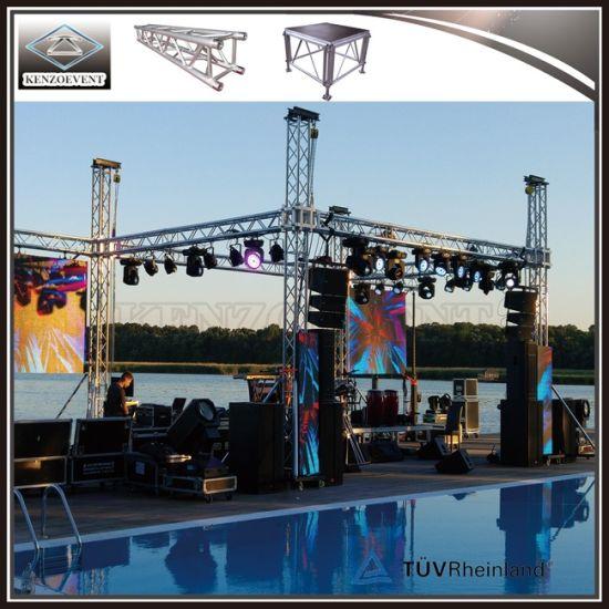 Small Stage Lighting Truss For DJ Equipment