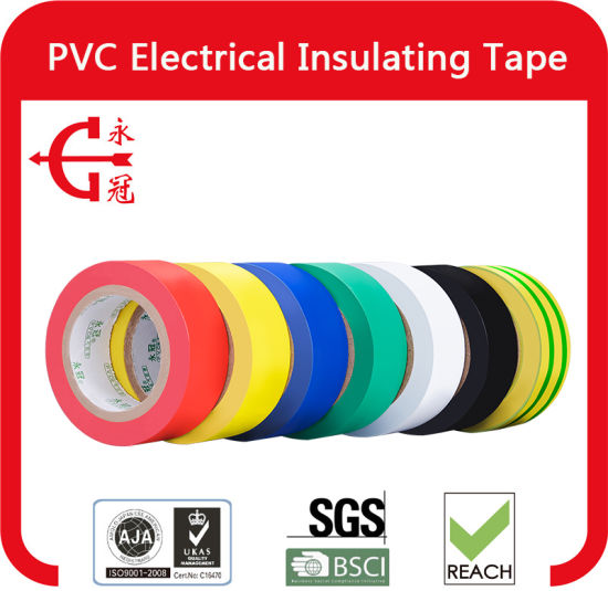 Cheap PVC Electrical Insulation Tape for Wrapping of Wires pictures & photos