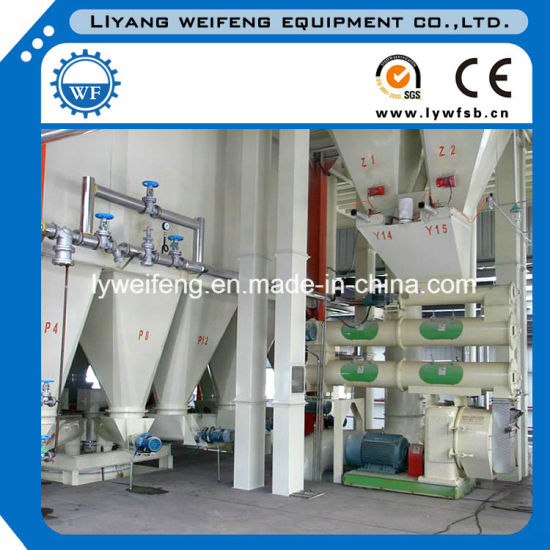 Ce Approve 2017 Good Price Animal Feed Pellet Production Line, Animal Poultry Chicken Fish Feed Production Line. pictures & photos