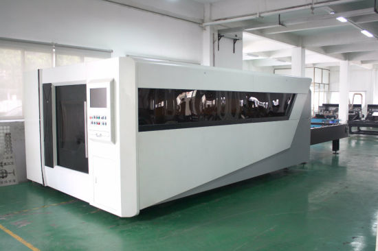 Ezletter CNC Exchangeable Platform Fiber Laser of Metal Cutting pictures & photos