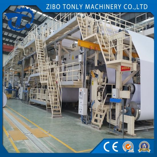ATM Thermal Transfer Paper Coating Machinery with High Speed