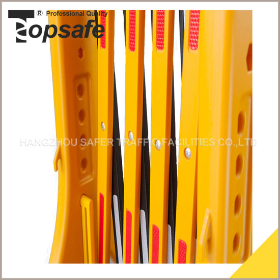 Traffic Plastic Barrier/Temporary Expandable Security Barrier (S-1643) pictures & photos