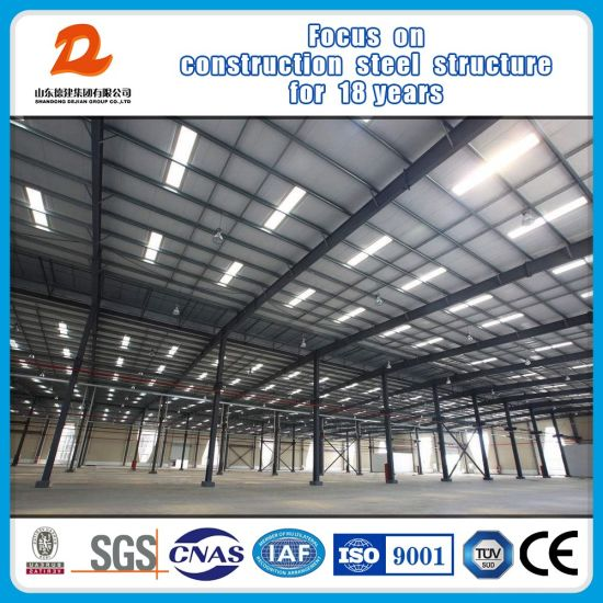 Fast Construction Steel Frame for Prefab Steel Buildings pictures & photos