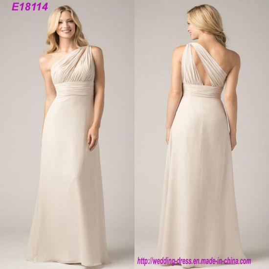 High Quality Charming Elegant Bridesmaid Dress Wholesale Fashion Newest Cheap Evening Dress