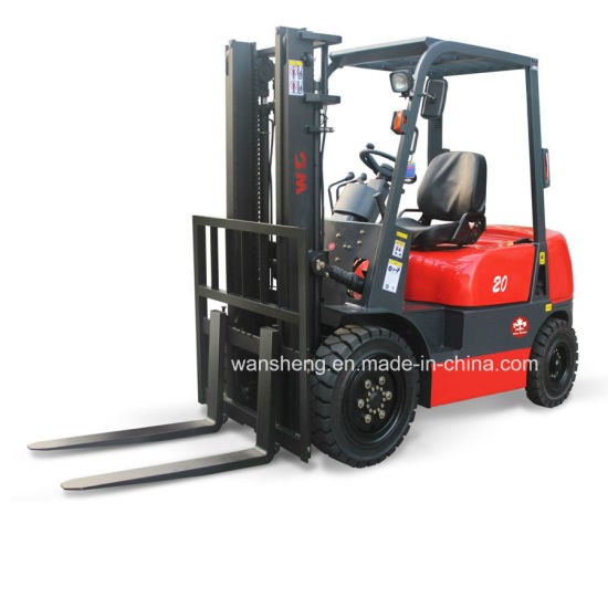 Easy and Simple to Handle 2000kg Diesel Forklift / 2.0ton Container-Balanced Forklift Truck pictures & photos