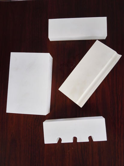 High Alumina 92% 95% Alumina Ceramic Lining Brick for Ceramics Industry pictures & photos