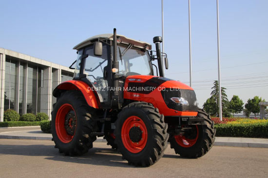 High Quality 100HP 4WD Agricultural Farming Tractor with Cabin